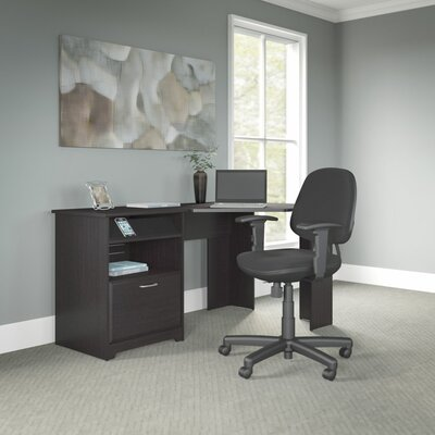 Bush Furniture Cabot Corner Desk and Office Chair