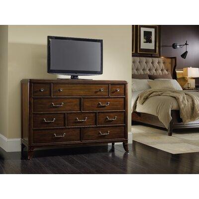 Hooker Furniture Palisade 10 Drawer Media Chest