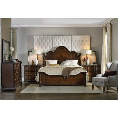Hooker Furniture Leesburg Panel Customizable Bedroom Set