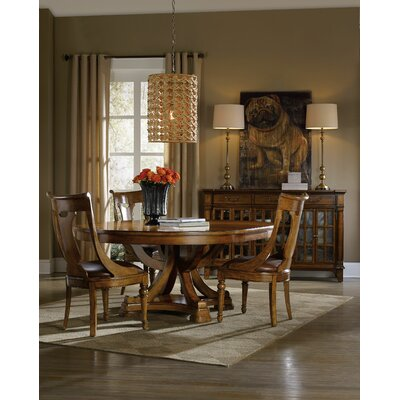 Hooker Furniture Tynecastle 5 Piece Dining Table Set