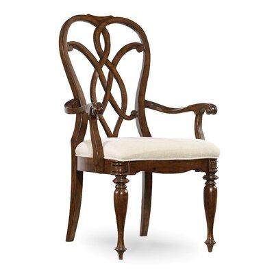 Hooker Furniture Leesburg Splatback Arm Chair (Set of 2)
