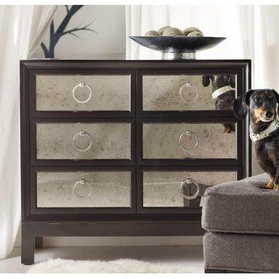 Hooker Furniture Melange 6 Drawer Mirrored Front Chest