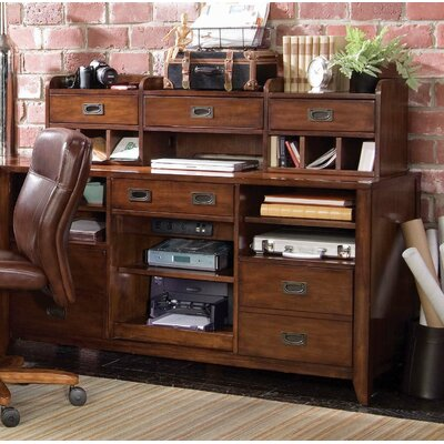 Hooker Furniture Danforth Open Credenza with Smart Hutch