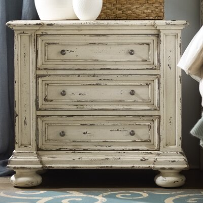 Hooker Furniture Sanctuary 3 Drawer Nightstand