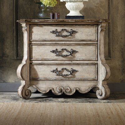 Hooker Furniture Chatelet 3 Drawer Nightstand