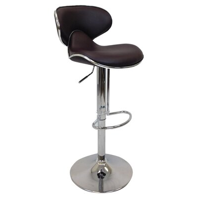 Creative Images International Adjustable Height Bar Stool (Set of 2)