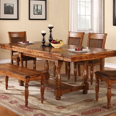 Loon Peak Log Lane Village Dining Table