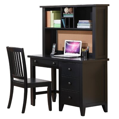 Alcott Hill Blackwell Computer Desk with Keyboard Tray