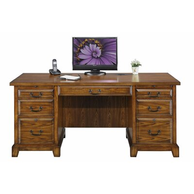 Darby Home Co Schueller Executive Desk Image