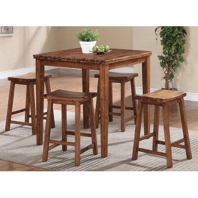 Loon Peak Blanco Point 5 Piece Dining Set
