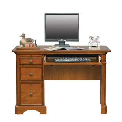 Alcott Hill Chester Keyboard Computer Desk with Drawer