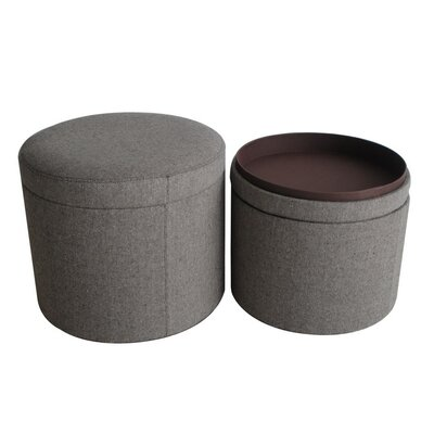 Screen Gems Mandalay Storage Ottoman