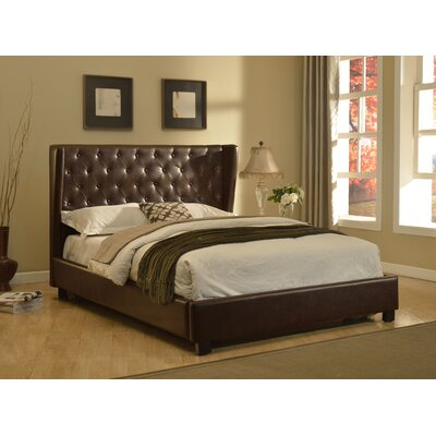 AC Pacific Upholstered Platform Bed