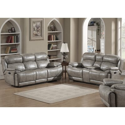 AC Pacific Estella Sofa and Loveseat Set