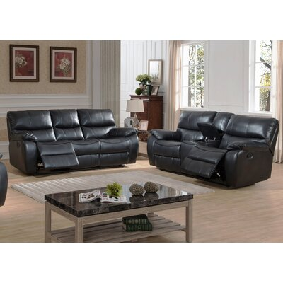 AC Pacific Evan 2 Piece Reclining Living Room Set