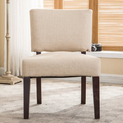 AC Pacific Padded Armless Side Chair