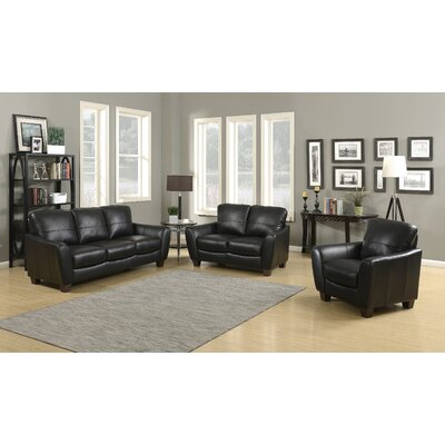 AC Pacific Sawyer 3 Piece Living Room Set