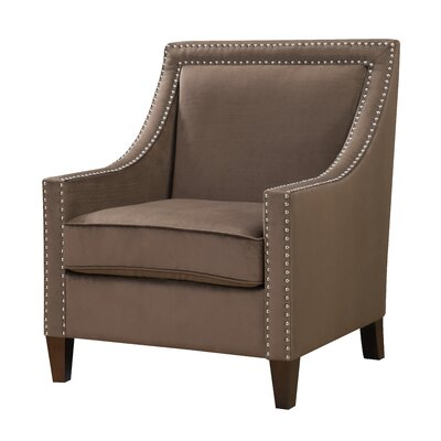 AC Pacific Christie Contemporary Fabric Club Chair