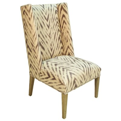 Pennisula Home Collection Co. Juliette Amir Cumin Wingback Armchair