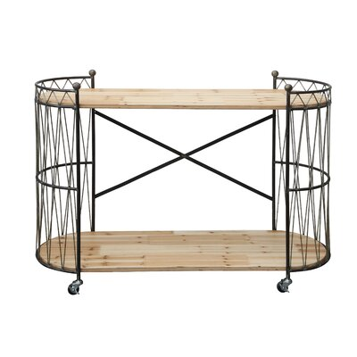 Creative Co-Op Sonoma Serving Cart