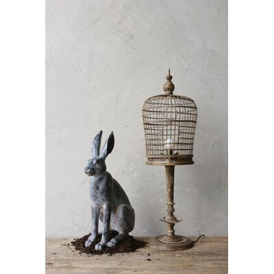 Creative Co Op Resin Rabbit Statue Amp Reviews Wayfair