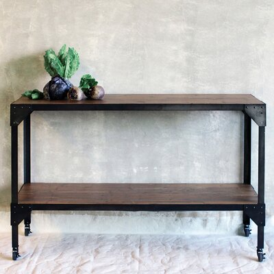 Creative Co-Op Simply Natural Console Table