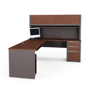 Bestar Connexion L-Shape Desk Office Suit..