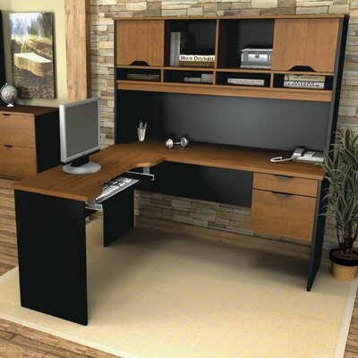 Bestar Innova Executive Desk with Accessories