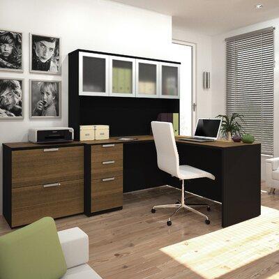Bestar Pro-Concept 2 Piece L-Shaped Desk ..
