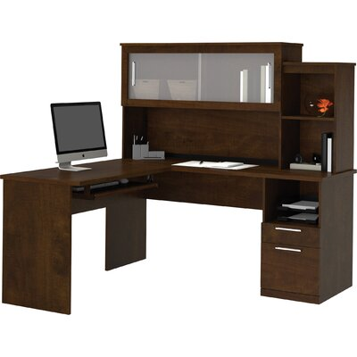 Red Barrel Studio Victorinox Credenza Desk with File