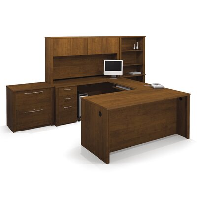 Bestar Embassy U-Shape Desk Office Suite