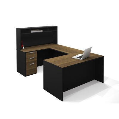 Bestar Pro-Concept U-Shape Desk with Hutch