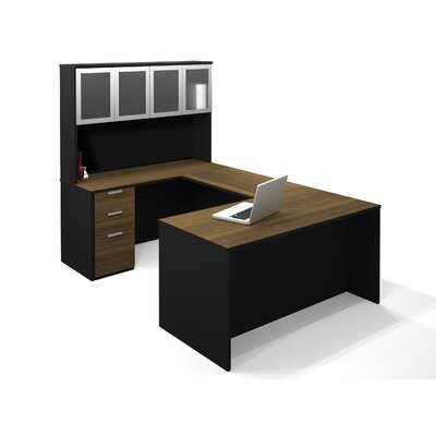 Bestar Pro-Concept U-Shape Desk with H..