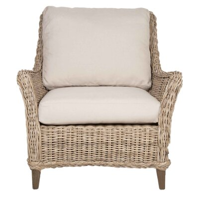 Orient Express Furniture New Wicker Howe Club Chair