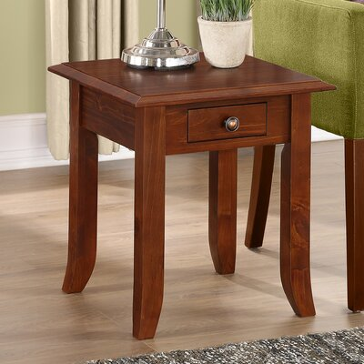 Simpli Home Devon End Table Image