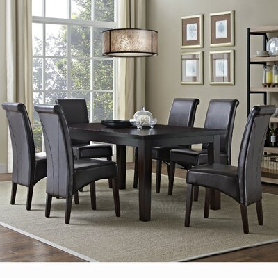 Simpli Home Eastwood 7 Piece Dining Set