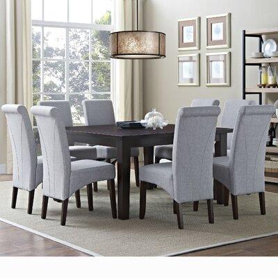 Simpli Home Avalon 9 Piece Dining Set
