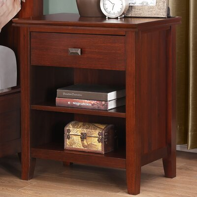 Simpli Home Artisan 1 Drawer Nightstand