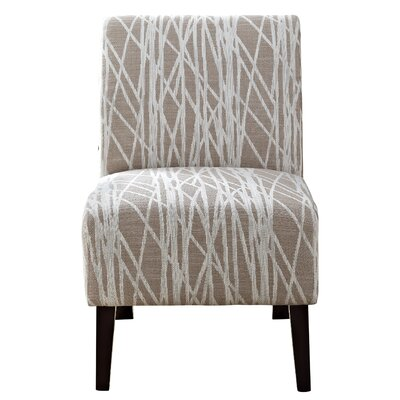 Simpli Home Woodford Slipper Chair