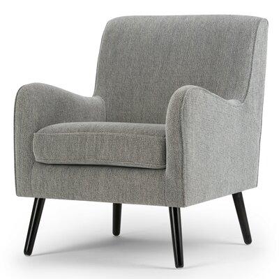 Simpli Home Dysart Mid Century Club Chair