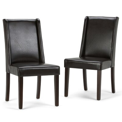Simpli Home Sotherby Parson Chair (Set of 2)