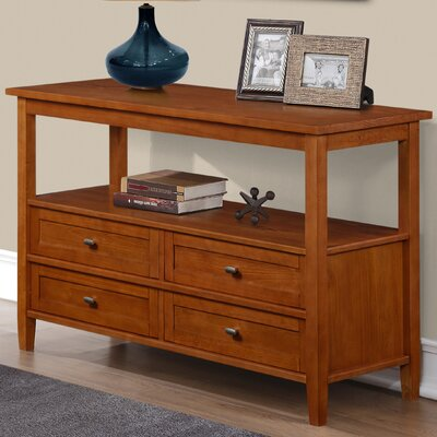 Simpli Home Warm Shaker Console Table