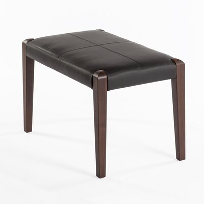 dCOR design Holstrand Leather Ottoman