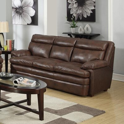 At Home Designs Clarkston Leather Sofa