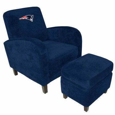 Imperial NFL Den Armchair and Ottoman