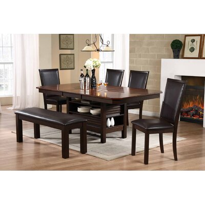 Darby Home Co Asheville 6 Piece Dinning Set