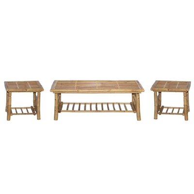 Bamboo54 3 Piece Coffee Table Set