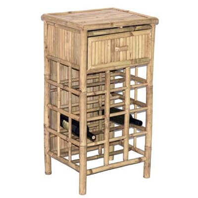 Bamboo54 12 Bottle Floor Wine Rack