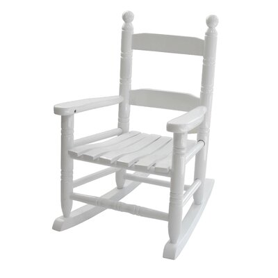 Jack Post Knollwood Children's Rocking Chair in White
