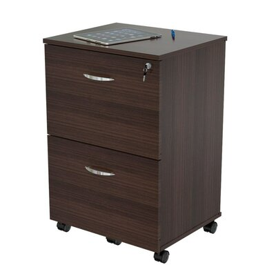 Inval Uffici 2 Drawer Mobile Vertical File